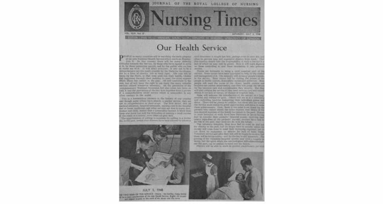 Our Health Service  (Nursing Times, July 3, 1948)